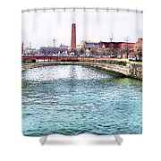 Fallswalk And Shot Tower Shower Curtain