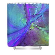 False Dimension Of Heaven Shower Curtain