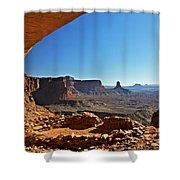 False Kiva Moab Utah Shower Curtain