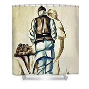 Family A Shower Curtain