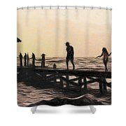 Family - Id 16235-142755-0546 Shower Curtain