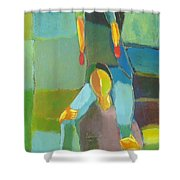 Family Joy Shower Curtain