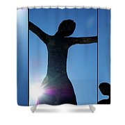 Family Of Man Shower Curtain