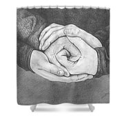 Family Rose Shower Curtain