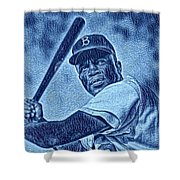 Famous Jackie Robinson Shower Curtain