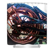 Famous Liberty Bike Copper Ny Shower Curtain