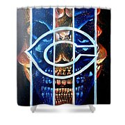 Fan Art Shower Curtain