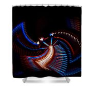 Fan Dance Shower Curtain