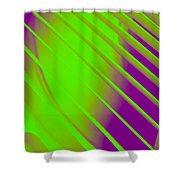 Fan Duotone 01 Shower Curtain