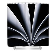 fan Shower Curtain