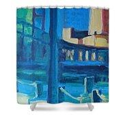 Fan Pier, Boston Shower Curtain