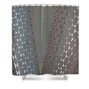 Fan Screen Shower Curtain