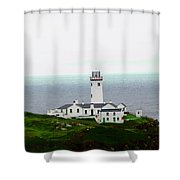 Fanad Head Lighthouse Shower Curtain