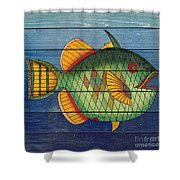 Fanciful Sea Creatures-jp3826 Shower Curtain