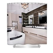 Fancy Bathroom Ensuite Shower Curtain