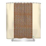 Fancy Brown Bag Shower Curtain