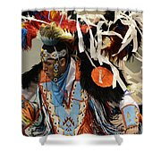 Pow Wow Fancy Dancer 1 Shower Curtain
