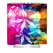 Fancy Pansy Candy Shower Curtain