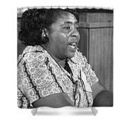 Fannie Lou Hamer (1917-1977) Shower Curtain