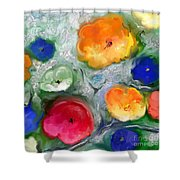 Fantaisie Florale Shower Curtain