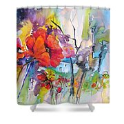 Fantaquarelle 01 Shower Curtain