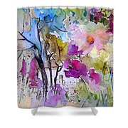 Fantaquarelle 02 Shower Curtain