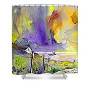Fantaquarelle 03 Shower Curtain