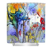 Fantaquarelle 05 Shower Curtain