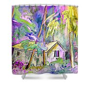Fantaquarelle 08 Shower Curtain