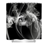 Fantasies In Smoke Iv Shower Curtain