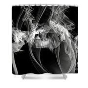 Fantasies In Smoke Iv Shower Curtain