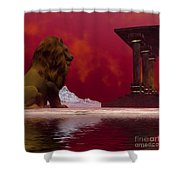 Fantasisms Shower Curtain by Corey Ford