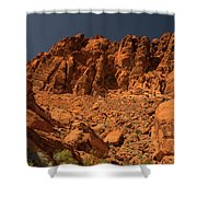 Fantastic Landscape Valley Of Fire Shower Curtain