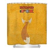Fantastic Mr. Fox Shower Curtain