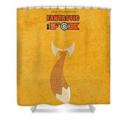 Fantastic Mr. Fox Shower Curtain