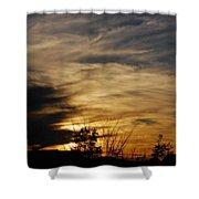 Fantastic Sunet Shower Curtain