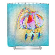 Fantastical Lily Shower Curtain