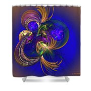 Fantasy Ball Shower Curtain