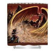 Fantasy Battle Shower Curtain