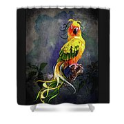 Fantasy Bird Shower Curtain