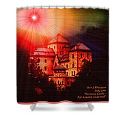 Fantasy Castle For Mandy Maxwell H A Shower Curtain