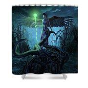 Fantasy Creatures 3 Shower Curtain