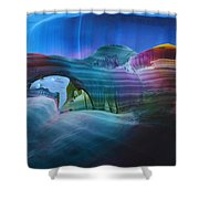 Fantasy Entrance Shower Curtain