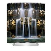 Fantasy Fade Shower Curtain