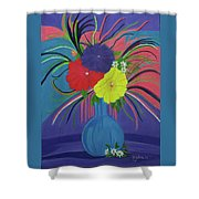 Pink And Purple Passion Shower Curtain