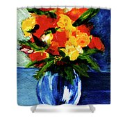 Fantasy Flowers #117 Shower Curtain