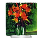 Fantasy Flowers #121 Shower Curtain