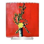 Fantasy Flowers Still Life #162 Shower Curtain