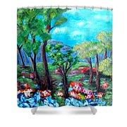 Fantasy Forest Shower Curtain