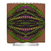 Fantasy Garden Three Shower Curtain